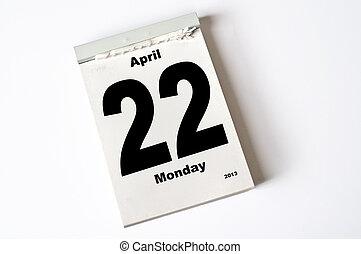 22. April 2013