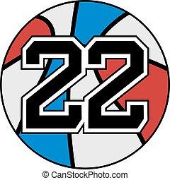 22, cesto