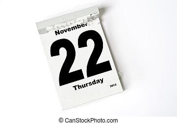 22., november, 2012
