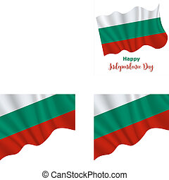 Bulgaria Independence Day background - 22 September....