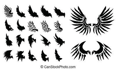 22, set, di, wings.