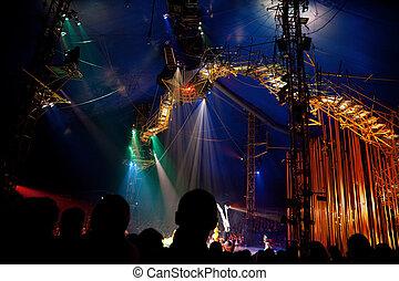 23, 10 月, 観客, soleil, 腕時計, モスクワ, -, モスクワ, du, cirque, 23:, russia., 代表, 2009