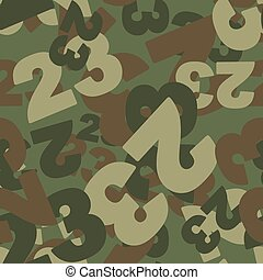 23 February camoflauge. Defenders day military seamless pattern. Texture for soldiers from 23 digits. Army protective background.