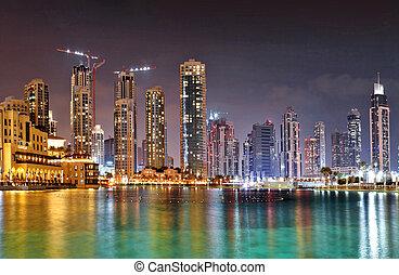 23:, uae, здание, t, октября, -, burj, khalifa, дубай, наибольший