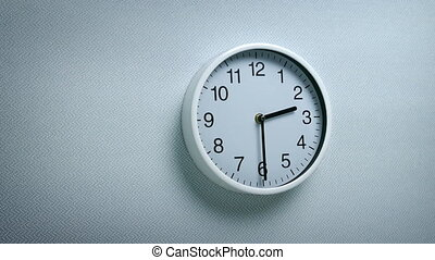 2.30 Clock On Wall - Generic clock on wall showing 2.30...