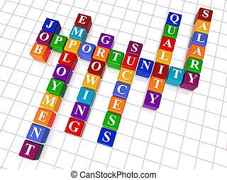 24, 拼字游戏, 工作, -, 机会