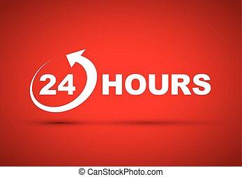 24 時間, アイコン