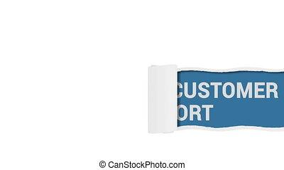 24 7 Customer Support shot clip