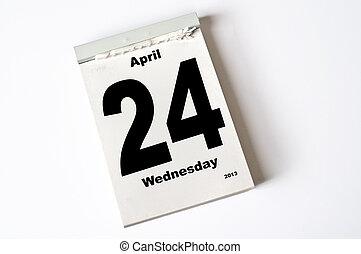 24. April 2013