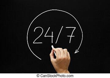 24, concept, 7