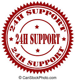 24 H Support-stamp