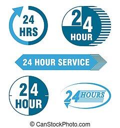 24 heures, service