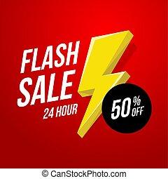 24 hour Flash Sale banner.