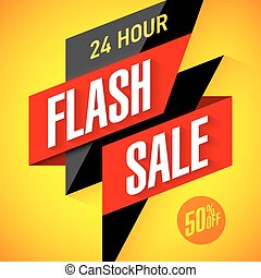 24 hour Flash Sale banner
