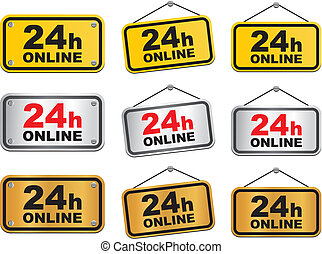 24 hour online sign
