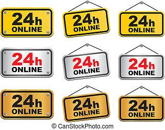 24 hour online sign