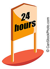 24 hours board