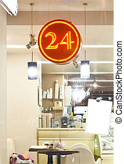 24 hours cafe