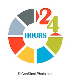 24 hours open color