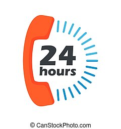 24 hours open phone