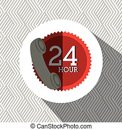 24 hours service design