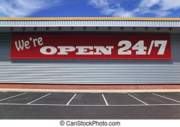 24, ouvert, 7
