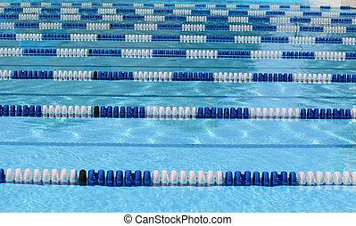 24, piscine, natation