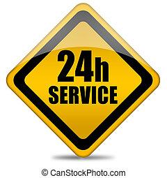 24 servicios de la hora, señal