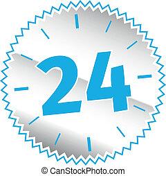 24 timmar, underteckna