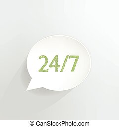 24/7 Sign