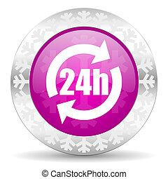 24h christmas icon