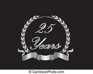 25, años