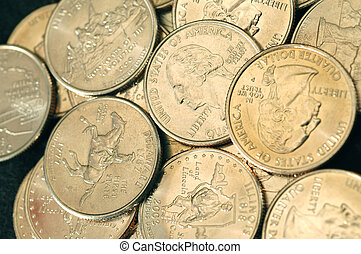 25 CENT COINS new state