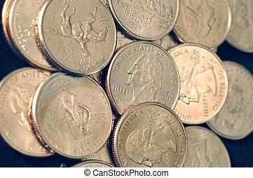 25 CENT COINS