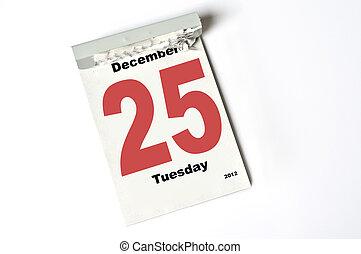 25. December 2012