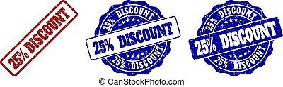 25% DISCOUNT Grunge Stamp Seals