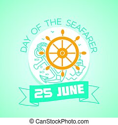 25 june Day of the Seafarer - Calendar for each day on june...