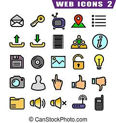25 web icons