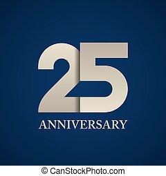 25 years anniversary paper number