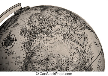 255 vintage globe