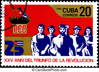 25th Anniversary of the Victory of the Cuban Revolution