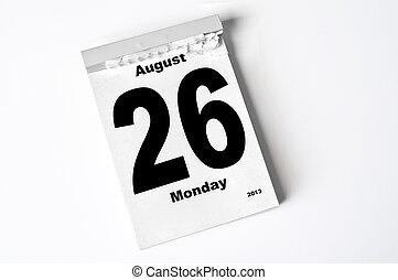 26., 2013, augusti