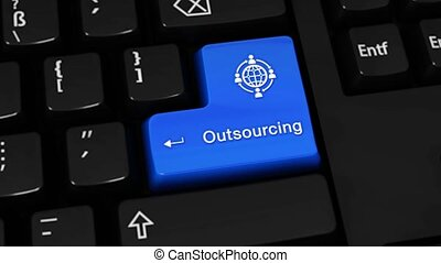 269. Outsourcing Rotation Motion On Computer Keyboard Button.