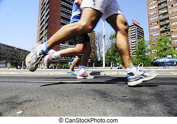 26th, international, rennen, belgrad, marathon
