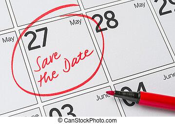 27, μπορώ , - , γραμμένος , ημερομηνία , ημερολόγιο , αποταμιεύω