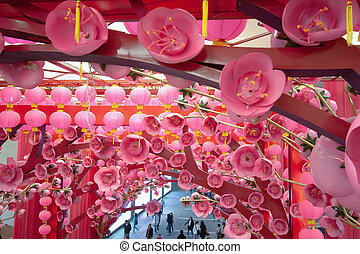 27 Jan 2007 new year entertainment. at shoppinmg mall hk