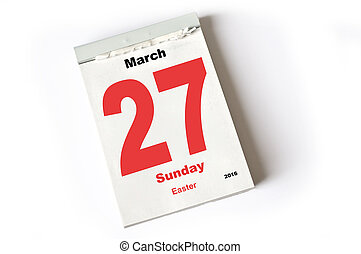 27. March 2016 Easter