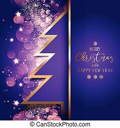 2710, boompje, kerstmis, achtergrond