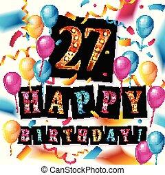 27th Anniversary Celebration Design