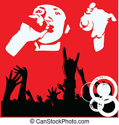 29(3).jpg - party illustration with crowd silhouettes and...
